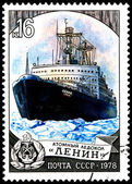 "Russian Icebreaker ""Lenin"" — Stock Photo"
