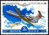 Airplane YAK-42 — Stock Photo