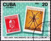 150 Anniversary of Carlos Finlay — Stock Photo