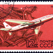 Airplane TU-104 — Stock Photo