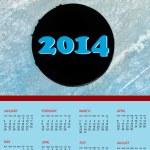calendário 2014 — Foto Stock