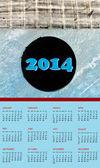 Calendar 2014 — Stockfoto