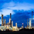 Oil refinery plant at twilight morning — Stock Photo #13662166