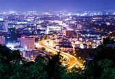 Pattaya city in thailand at night — Stock Photo