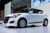 BANGKOK-DEC 03: Suzuki Swift on Display at Thailand Internationa — Stock Photo