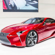 Постер, плакат: BANGKOK DEC 03: Lexus concept car on Display at Thailand Interna