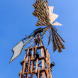 Windmill against blue sky — Stock Photo