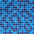 Blue tiles texture for background — Stock Photo #22252447