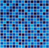 Blue tiles texture for background — Stock Photo