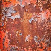 Grunge metal enferrujado superfície textura — Foto Stock
