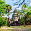 Pimai castle, historical park  and ancient castle in thailand — Stock Photo