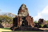 Pimai castle, historical park and ancient castle in thailand — Stock Photo