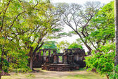 Pimai schlosses, historische parks und alten schloss in thailand — Stockfoto