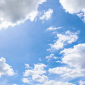 Cloud and blue sky — Stock Photo