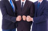 Business men team — Stock Photo