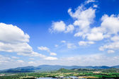 Mountains and blue sky — Stock Photo
