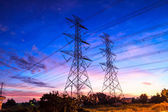 Electricity high voltage power — Stock Photo