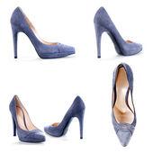 Fashionable female shoes — Stock Photo
