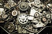 Sport car's engine — Stockfoto