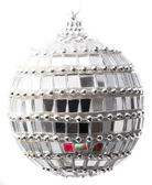 Mirror christmass-tree ball — Stockfoto