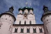 Rostov Kremlin. Gate Church of the Resurrection. — Stock Photo