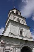 Moskou okres, mozhaysk. de klokkentoren van het klooster kolotsky. — Stockfoto