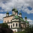 Goritskii Monastery Uspensky Cathedral. Russia, Yaroslavl region, Pereslavl. — Stock Photo