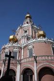 俄罗斯,莫斯科。教会的圣洁处女保护 — 图库照片