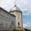 Russia, Yaroslavl region, Pereslavl. Tower of the Goritskiy monastery — Stock Photo