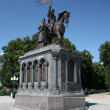 The monument to Prince Vladimir and the saint Fyodor - Baptist of land Vladimir. Russia, Vladimir. Golden Ring of Russia — Stock Photo