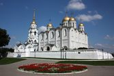 The Holy Assumption Cathedral. Vladimir, Russia. Golden Ring of Russia — Stock Photo