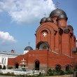 Temple of the Intercession of the Holy Virgin. Holy Trinity Monastery — Stock Photo