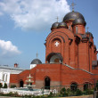 Постер, плакат: Temple of the Intercession of the Holy Virgin Holy Trinity Monastery