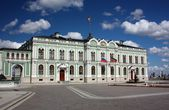 Presidential Palace of the Republic of Tatarstan in Kazan Kremlin — Stock Photo