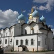 Annunciation Cathedral in the Kazan Kremlin. Russia — Stock Photo