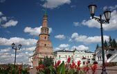 Suyumbike tower in the Kazan Kremlin. Russia, Republic of Tatarstan — Stock Photo