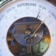 Stock Photo: Barometer indicates clear weather