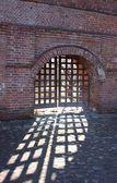 Vieille porte. ensemble de chambres krutitsky — Photo