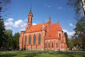 Kostel panny marie. druskininkai, litva — Stock fotografie