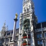 Marienplatz in Munich — Stock Photo