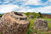 Plain of Jars, Phonsavan, Xieng Khuang province, Laos. — Stock Photo