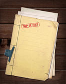 Top secret file. — Stock Photo