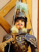 The details of a sicilian puppet — Stock Photo