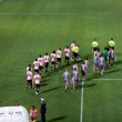 Stock Photo: PALERMO, ITALY - August 11, 2013 - US Cittdi Palermo vs US Cremonese - TIM CUP