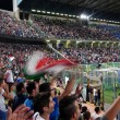 Palermo, Italy - September 06, 2013 - Italy vs Bulgaria - FIFA 2014 World Cup Qualifier — Stock Photo