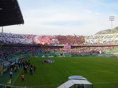 パレルモ, イタリア - 2013 年 11 月 9 日 - 私たちのチッタ ・ ディ ・ パレルモ対トラーパニ カルチョ - セリエ b — ストック写真