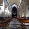 The main nave of the Cathedral of Catania — Stock Photo