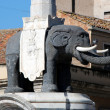 Catania - The statue of the Elephant — Stock Photo #35785069