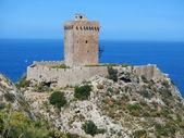 Altavilla Milicia - Torre Normanna — Stock Photo