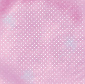 Background light pink with dots — Stock Photo